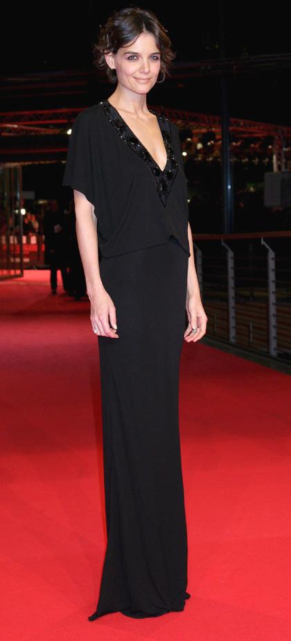 In foto Katie Holmes (43 anni) Dall'articolo: Operazione Valchiria, premiere a Londra e Berlino.
