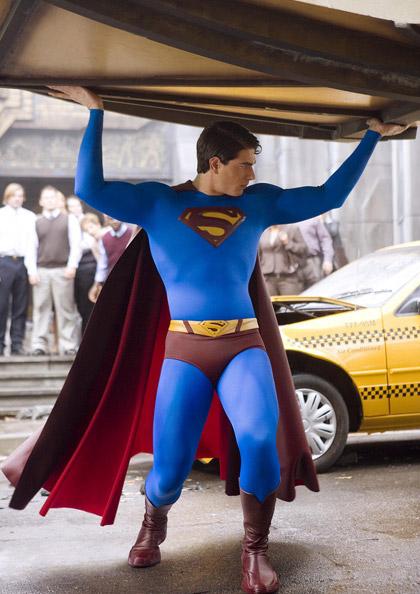 In foto Brandon Routh (40 anni) Dall'articolo: Prima visione in Tv: Superman Returns.