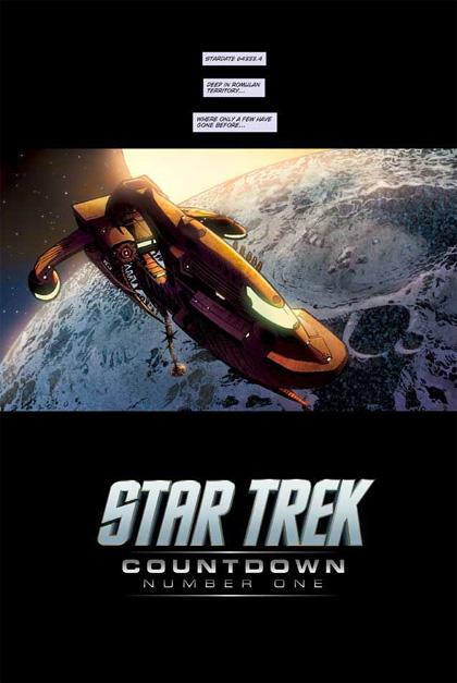 Countdown to Star Trek -  Dall'articolo: Star Trek: in arrivo il fumetto prequel.