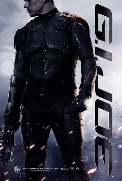 In foto Channing Tatum (39 anni) Dall'articolo: G.I. Joe: The Rise of Cobra, cinque nuovi poster.