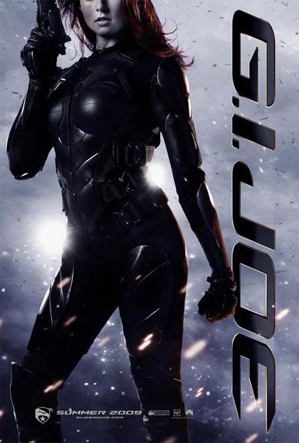 In foto Rachel Nichols (39 anni) Dall'articolo: G.I. Joe: The Rise of Cobra, cinque nuovi poster.