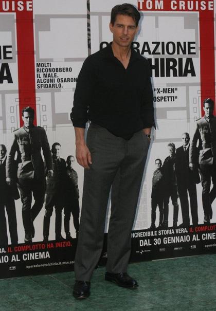 In foto Tom Cruise (59 anni) Dall'articolo: Operazione Valchiria: parlano Tom Cruise e Bryan Singer.