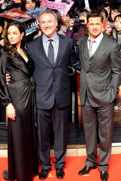 In foto David Fincher (58 anni) Dall'articolo: Il curioso caso di Benjamin Button, premiere a Tokyo.