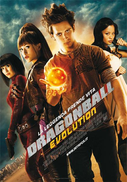 La leggenda prende vita -  Dall'articolo: Dragonball Evolution: il poster italiano.