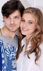 Questo piccolo grande amore, photo call - Emanuele e Mary