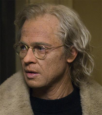 In foto Brad Pitt (57 anni) Dall'articolo: Il curioso caso di Benjamin Button: gli effetti speciali.