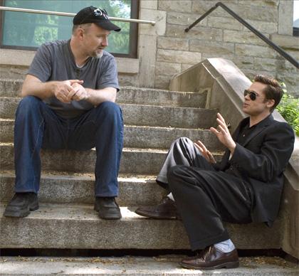In foto David Fincher (58 anni) Dall'articolo: Il curioso caso di Benjamin Button: riavvolgendo una vita e svolgendo un amore.