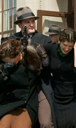 Una scena del film -  Dall'articolo: Public Enemies: prime immagini.