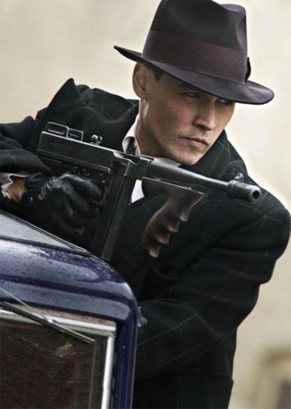 In foto Johnny Depp (58 anni) Dall'articolo: Public Enemies: prime immagini.
