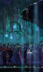 Una scena del film -  Dall'articolo: The Princess and the Frog: i concept art.