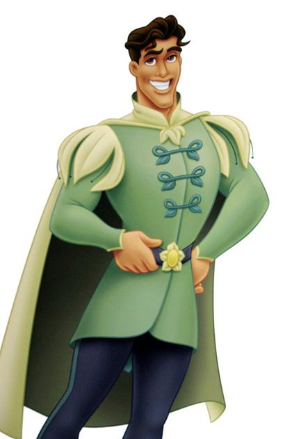 Il principe Naveen -  Dall'articolo: The Princess and the Frog: i concept art.