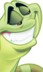 Naveen in versione ranocchio -  Dall'articolo: The Princess and the Frog: i concept art.