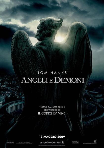 Il poster italiano di Angeli e Demoni -  Dall'articolo: Angeli e Demoni, la locandina italiana.