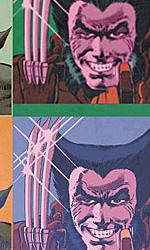 Wolverine in versione pop secondo Andy Warhol -  Dall'articolo: Marvel celebra il 35 anniversario di Wolverine.