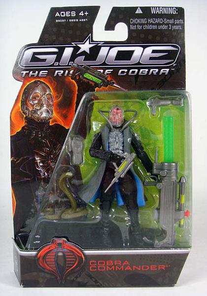 Il comandante Cobra -  Dall'articolo: G.I. Joe: The Rise of Cobra, prima immagine di Cobra.