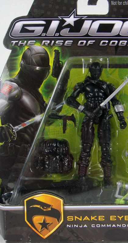 Snake Eyes -  Dall'articolo: G.I. Joe: The Rise of Cobra, prima immagine di Cobra.