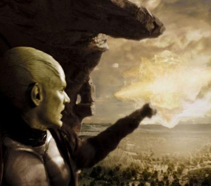 In foto James Marsters (57 anni) Dall'articolo: Dragonball Evolution: nuove immagini.