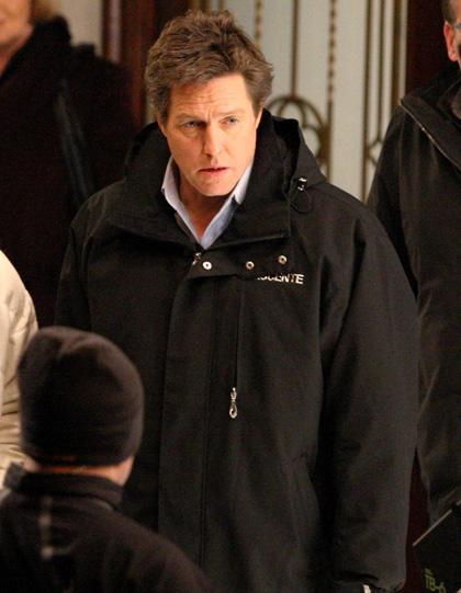 In foto Hugh Grant (59 anni) Dall'articolo: Did you hear about the Morgans? Le foto dal set.