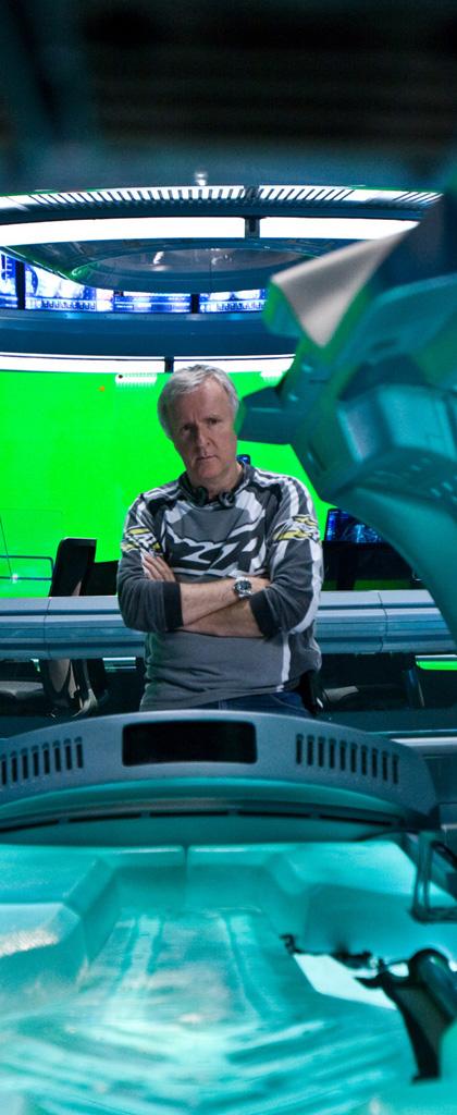In foto James Cameron (65 anni) Dall'articolo: Avatar sarà una trilogia?.