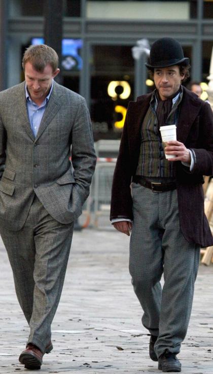 In foto Robert Downey Jr. (54 anni) Dall'articolo: Sherlock Holmes: già un sequel?.