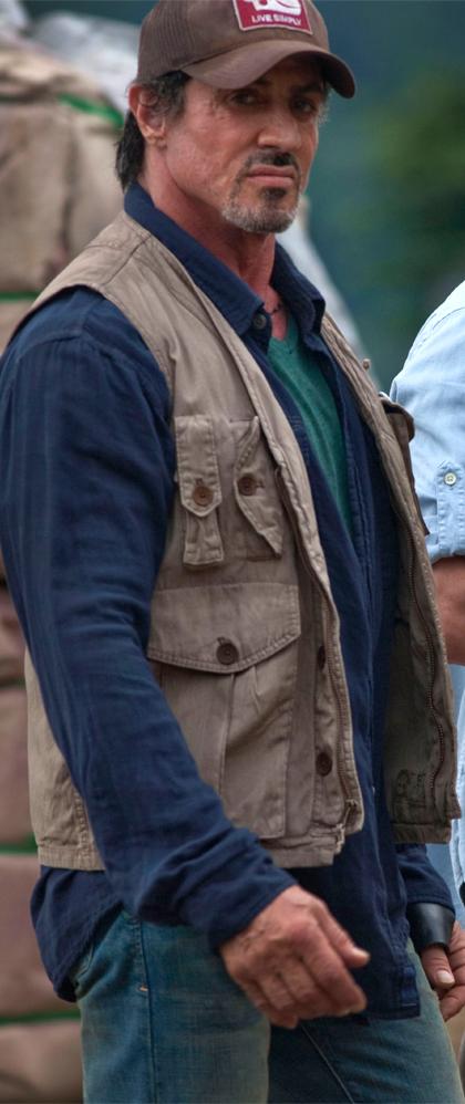 In foto Sylvester Stallone (73 anni) Dall'articolo: The Expendables: prime immagini ufficiali.