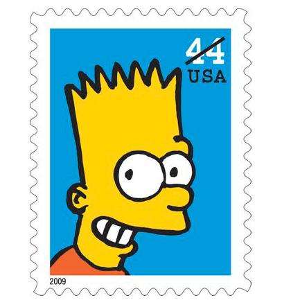 Bart -  Dall'articolo: I Simpson alle poste.