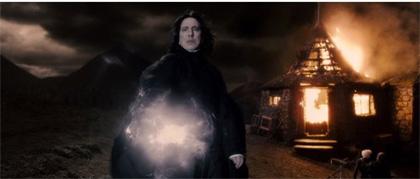 In foto Alan Rickman Dall'articolo: Harry Potter e il Principe Mezzosangue: quattro nuove immagini.