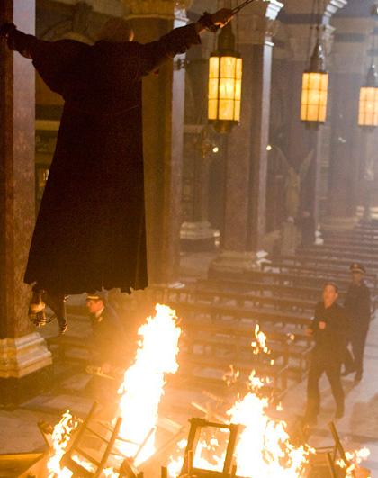 Una scena del film -  Dall'articolo: Il Codice da Vinci: 3° film in lavorazione.