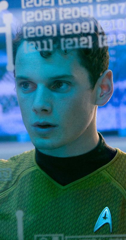 In foto Anton Yelchin Dall'articolo: Star Trek: nuove immagini.