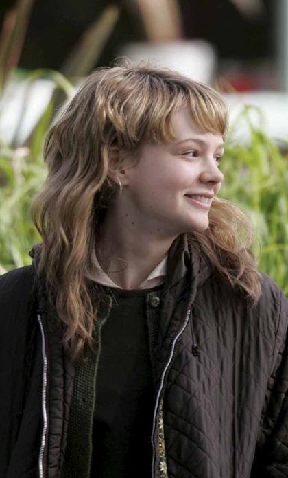 In foto Carey Mulligan (35 anni) Dall'articolo: Never Let Me Go: prime immagini dal set.