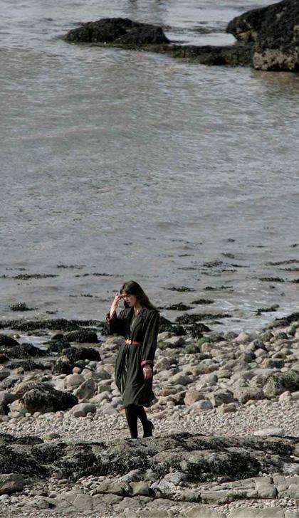In foto Keira Knightley (35 anni) Dall'articolo: Never Let Me Go: prime immagini dal set.