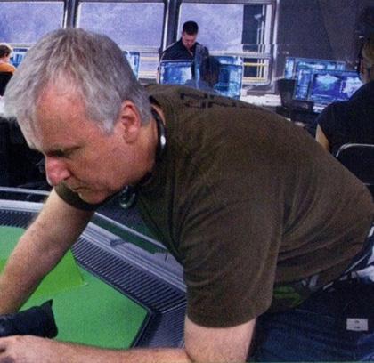 In foto James Cameron (64 anni) Dall'articolo: Avatar: nuove immagini di Cameron al lavoro.
