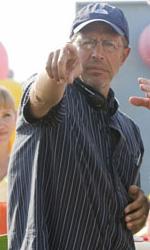 Hanna Montana: The Movie, la fotogallery - Billy Ray Cyrus e il regista Peter Chelsom