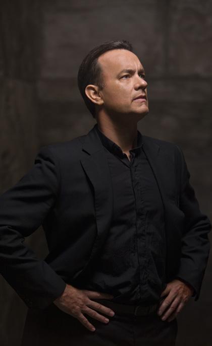 In foto Tom Hanks (63 anni) Dall'articolo: Angeli e Demoni: nuove immagini.