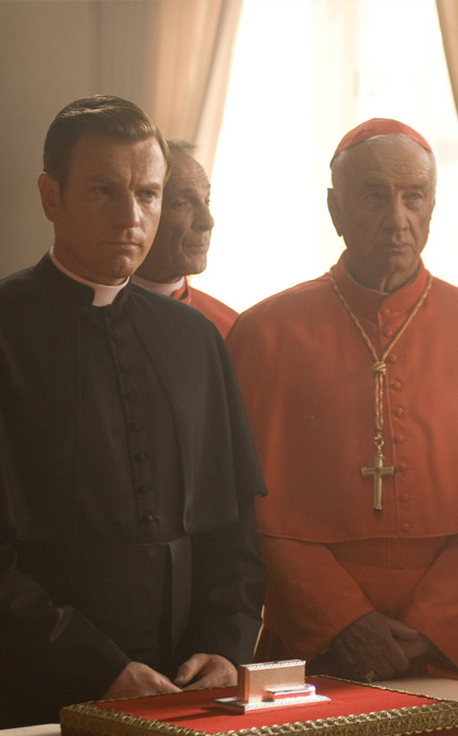 In foto Ewan McGregor (49 anni) Dall'articolo: Angeli e Demoni: nuove immagini.
