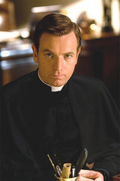 In foto Ewan McGregor (48 anni) Dall'articolo: Angeli e Demoni, il film.