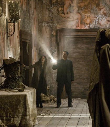 In foto Tom Hanks (63 anni) Dall'articolo: Angeli e Demoni trova il Vaticano a Los Angeles.