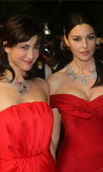 Ne te Retourne Pas: il red carpet - Sophie Marceau e Monica Bellucci