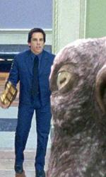 Notte al museo 2 – La fuga: come mai c'è Darth Vader? - Larry Daley (Ben Stiller) e Amelia Earhart (Amy Adams) e la piovra gigante