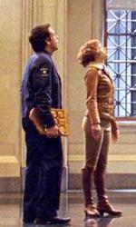 Notte al museo 2 – La fuga: come mai c'è Darth Vader? - Amelia Earhart (Amy Adams) e Larry Daley (Ben Stiller) e il Pensatore