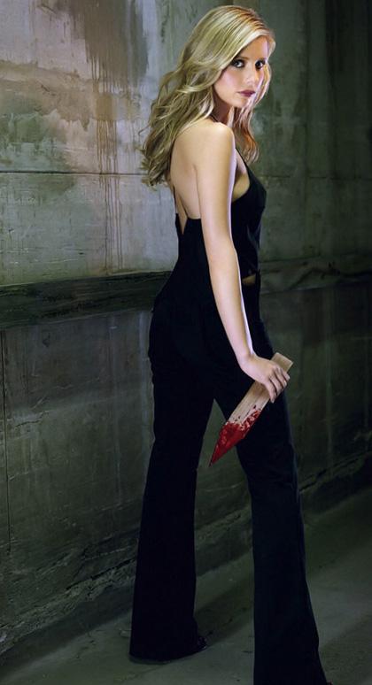 In foto Sarah Michelle Gellar (42 anni) Dall'articolo: Buffy the vampire slayers: il reboot.