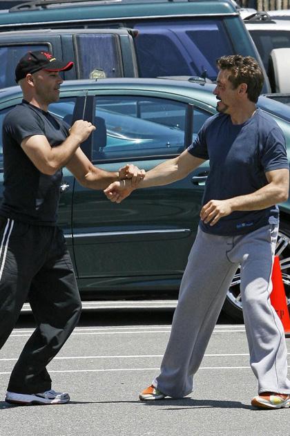 In foto Robert Downey Jr. (53 anni) Dall'articolo: Iron Man 2: le foto dalla Edwards Air Force Base.