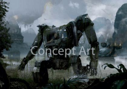 Il Powersuit -  Dall'articolo: Nuovi concept art ufficiali del film Avatar.