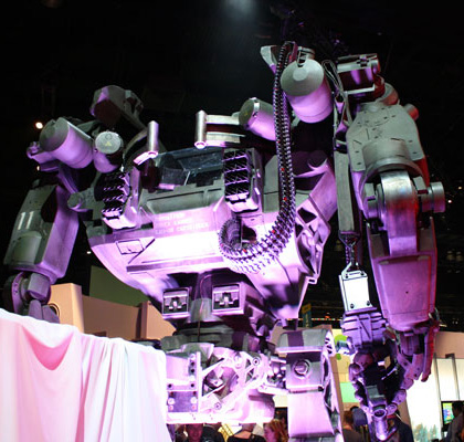 L'Heavy loaders -  Dall'articolo: Avatar: l'heavy lifter mech in display all'E3.