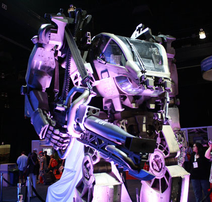 L'Heavy loaders -  Dall'articolo: Avatar: l'heavy lifter mech in display all'E3.