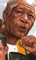 Invictus: prime immagini di Morgan Freeman come Mandela - Il concept art per un poster