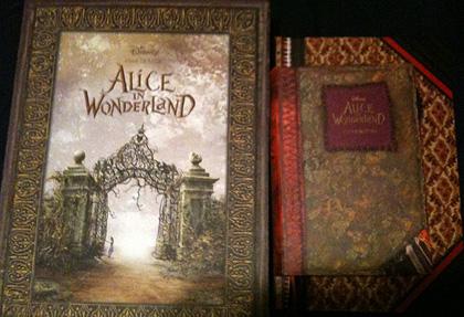 Due dei libri a matriosca -  Dall'articolo: Alice in Wonderland: l'inizio di una nuova campagna virale?.