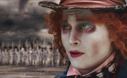In foto Johnny Depp (56 anni) Dall'articolo: Alice in Wonderland: l'inizio di una nuova campagna virale?.