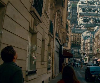 Una scena del film -  Dall'articolo: Inception: Chris Nolan dice che è il più grande film che abbia mai fatto.
