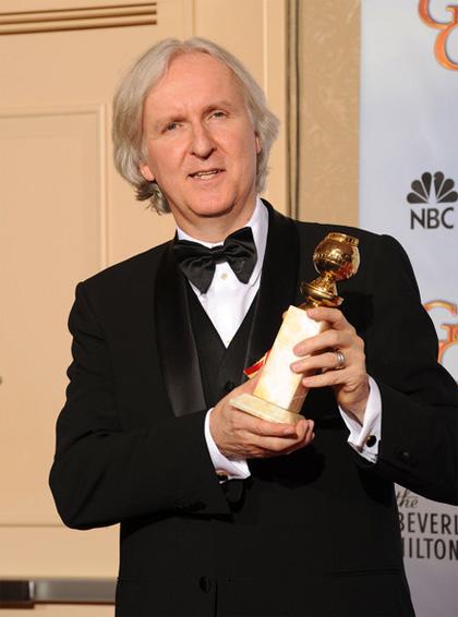 In foto James Cameron (65 anni) Dall'articolo: Golden Globes: Avatar continua a trionfare.